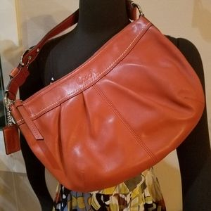 Coach Supple Soft Leather Soho Hobo Shoulder Bag